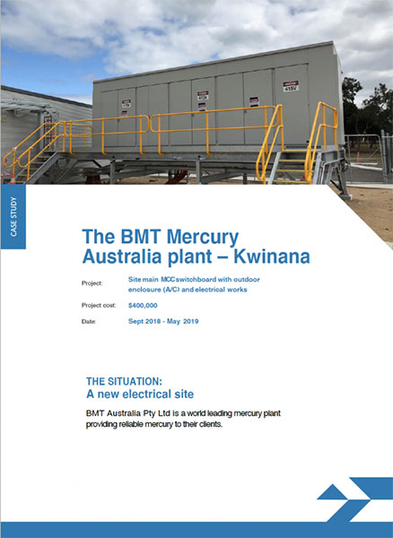 BMT Mercury Australia Plant