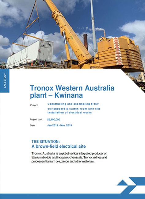 Tronox Western Australia Plant